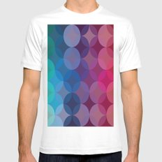 The Patterns SMALL Mens Fitted Tee White