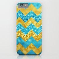 Blueberry Twist Chevron iPhone 6 Slim Case