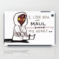 DARTH MAULENTINE iPad Case