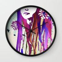 Dripping Wall Clock