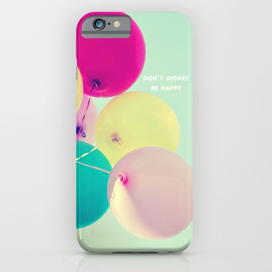 Don't worry, be happy iPhone & iPod Case