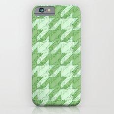 frog houndstooth iPhone 6 Slim Case