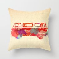 VW Van  Throw Pillow