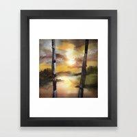 Calling The Sun XVII Framed Art Print