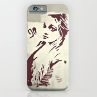 iPhone & iPod Case featuring 90's girl by Li9z