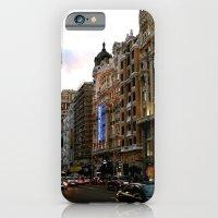 iPhone & iPod Case featuring Gran Vía - Madrid by OSCAR GBP