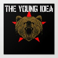 The Young Idea - Grizzly… Canvas Print