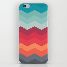 Color strips pattern iPhone & iPod Skin