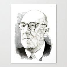 Chaos in Sierpinski Canvas Print