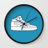 #13 Nike Airforce 1 Wall Clock