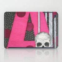 Pink Skull A iPad Case