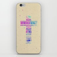 Pink Purple Aztec Patter… iPhone & iPod Skin