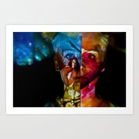 Contrast: Projection Series #13 Art Print