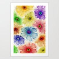 Flowers For Eternity Art Print