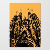 Barcellona B Canvas Print