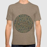 Live Lovely, Print Mens Fitted Tee Tri-Coffee SMALL