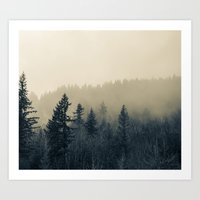 Mists Of Noon Art Print
