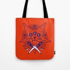 Hell Kitten Tote Bag
