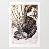 The Pit Art Print