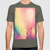 The Mighty Jungle Mens Fitted Tee Lieutenant SMALL