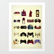 Game On  Art Print