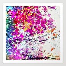 Autumn 5 X Art Print