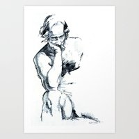 Male Figure Art Print