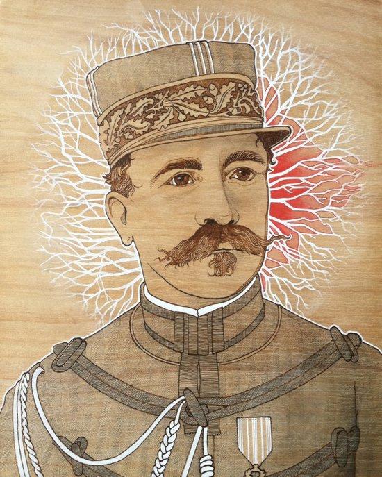 Telepathy Series, The General Officer Art Print