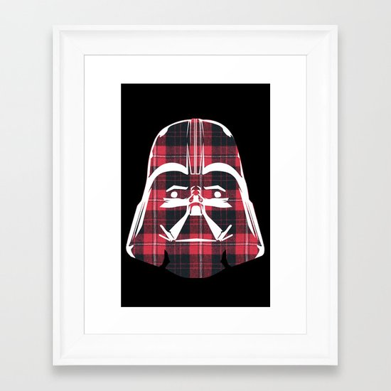 plaidinum. Framed Art Print