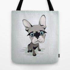 Bat French BullDog Tote Bag