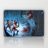 Den of the Ogrelion Laptop & iPad Skin