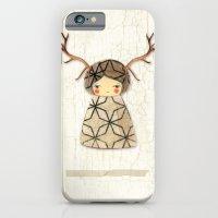 iPhone & iPod Case featuring Deer paperdolls by munieca