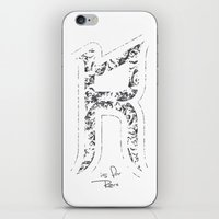 R - Is For Rare - White … iPhone & iPod Skin