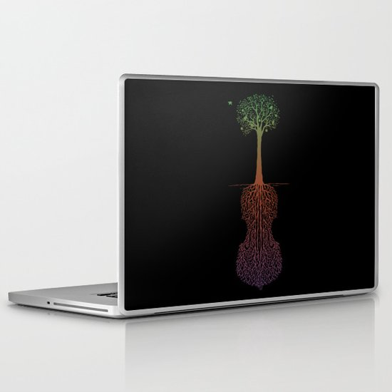 Rooted Sound IV Laptop & iPad Skin