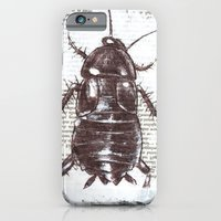 iPhone & iPod Case featuring cockroach by myripART