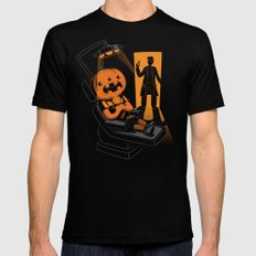 Are You Afraid of the Dentist? Black SMALL Mens Fitted Tee