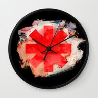 Red Hot Chili Wall Clock