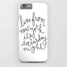 Live From New York iPhone 6s Slim Case