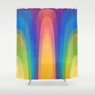 Chroma #3 Shower Curtain