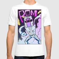 ROM! Mens Fitted Tee White SMALL