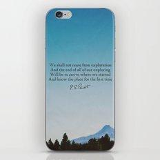 T.S. Eliot: Exploration iPhone & iPod Skin