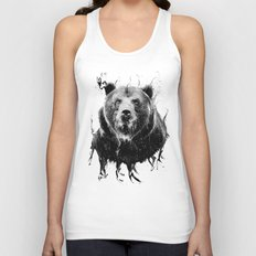 DARK BEAR Unisex Tank Top
