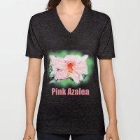 Pink Rhododendron, Azale… Unisex V-Neck