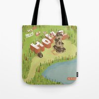 The Burrow Tote Bag