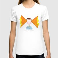 visions of radness Womens Fitted Tee White SMALL