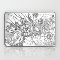 Back To The Water / Original A4 Illustration / Pen & Ink Laptop & iPad Skin
