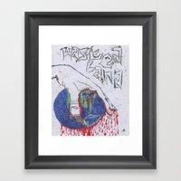 Wasted Land Framed Art Print