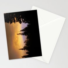 Sunset in the Forest Stationery Cards