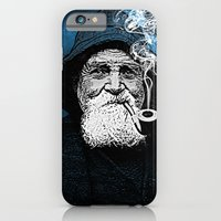 iPhone & iPod Case featuring The Old Man And The Sea by Thömas McMahon