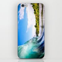 Tropical Wave iPhone & iPod Skin